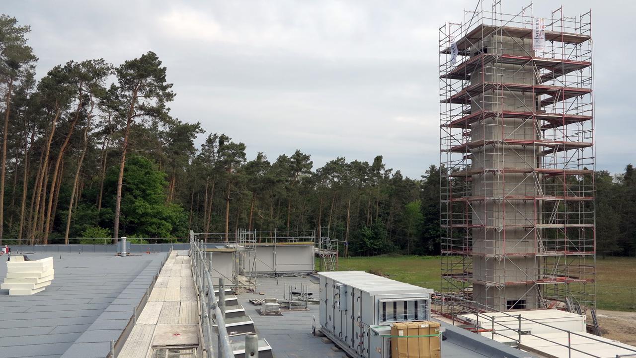 Schlauchturm für die FFW Wünsdorf